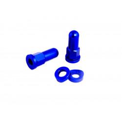 Ecrou de Gripster + Rondelle Anodisées - Bleu