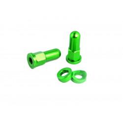 Ecrou de Gripster + Rondelle Anodisées - Vert