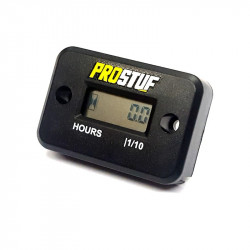 Hour Meter With Connexion - Black