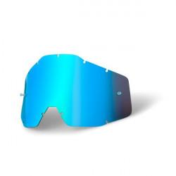Tear Off Lens - Blue mirror