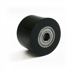 Universal Chain Roller - 32 mm / Axle 8mm / Width 24mm - Black